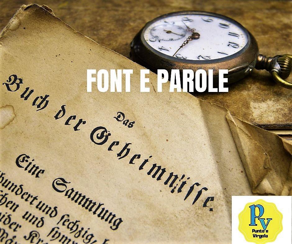 Dai il giusto carattere (font) alle parole!