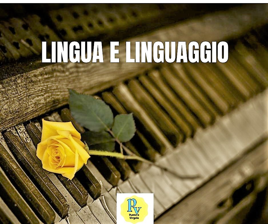 Lingua e linguaggio: le differenze.